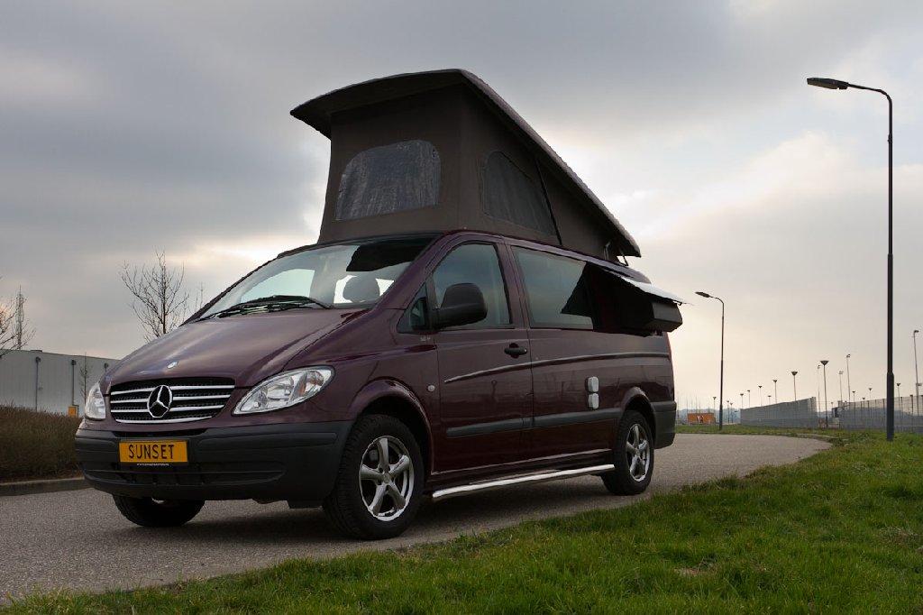 Vanaf nu in meerdere modellen leverbaar, Sunset Campers Mercedes Vito